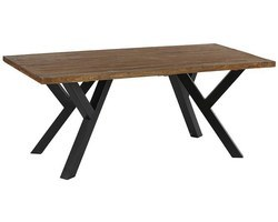 TABLE TECK MASSIF NATUREL - BELTA190