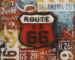 TABLEAU ROUTE 66 - TF67