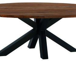 017 - TABLE OVALE TECK MASSIF - BAITA230