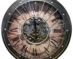 HORLOGE A ENGRENAGES