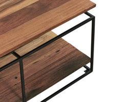 TABLE BASSE EN BOIS RECYCLÉS - NAKO28001