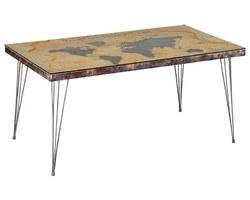 TABLE À DÎNER MAPPEMONDE - WORTA160