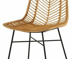 CHAISE ROTIN PIEDS METAL - CHACOC