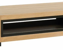 TABLE BASSE DOUBLE PLATEAU - CLETABA140