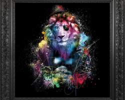 BINET LION COLOR