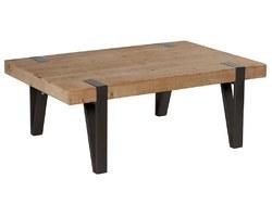 TABLE BASSE BOIS / MÉTAL - TECTABA 120
