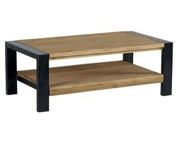 TABLE BASSE DOUBLE PLATEAU - LUNTABA110