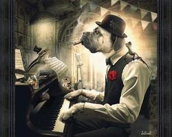 BINET CHIEN PIANO
