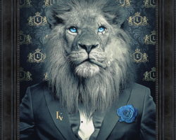 BINET LION FASHION