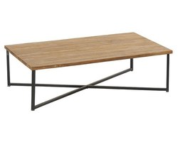 TABLE BASSE TECK MASSIF - ROSTABA120