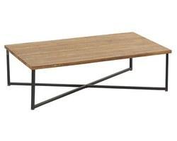 TABLE BASSE TECK MASSIF - ROSTABA120