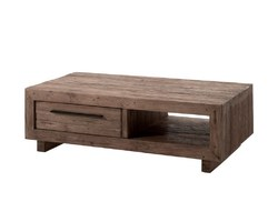 TABLE BASSE EN TECK - ORETABA130