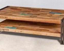 Table Basse Double Plateau - SM28009