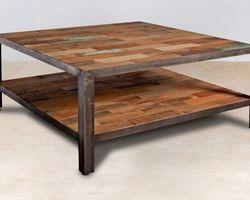 Table Basse Carrée 80*80 - INDUS04001