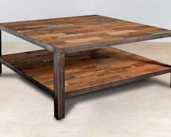 TABLE CARREE 80*80 - INDUS04001