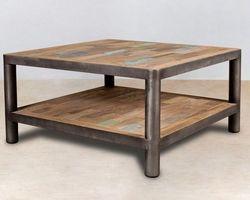 TABLE BASSE CARRÉE 80*80 - OCEANTB002