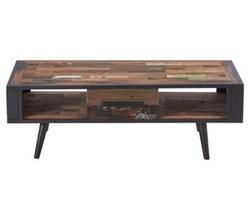 Table Basse 1 Tiroir 2 Niches - NORDIC20018