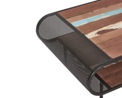 Table Basse Bois Recyclé - INFLUENCE28001
