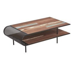 TABLE BASSE BOIS RECYCLE - INFLUENCE28001