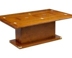 TABLE BASSE GLASGOW À ABATTANTS - GLTBB01