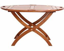 TABLE BASSE BATEAU PIEDS CINTRÉS - TLB04NC