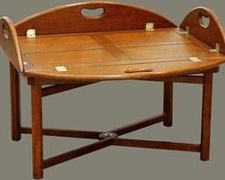 GRANDE TABLE BASSE BATEAU CIRÉE - TLB03NC