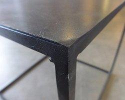 TABLE BASSE MÉTAL 50*50*47
