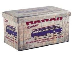 POUF BANC / COFFRE HAWAI