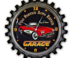 HORLOGE GARAGE AUTO REPAIR