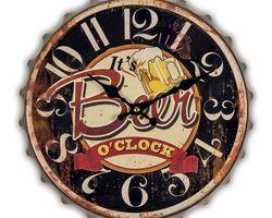 HORLOGE CAPSULE BEER O'CLOCK