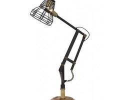 LAMPE DE BUREAU JACKSON NOIR-BRONZE ANTIQUE