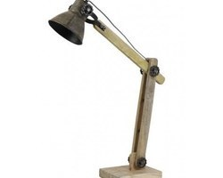 LAMPE DE BUREAU EKERD NATUREL- ANTIQUE