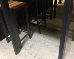 Table haute - Mange debout 160*76