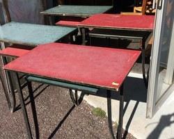 TABLE DE BISTROT 1950