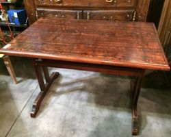 TABLE DE BISTROT À L'ANCIENNE