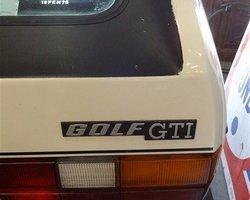 VOLKSWAGEN GOLF GTI DE 1982, 1800CM3, ESSENCE