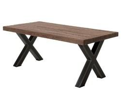 001 - TABLE À DÎNER EN TECK - ORETA180