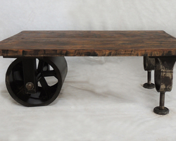TABLE BASSE INDUSTRIELLE - BROOKLYNTB001