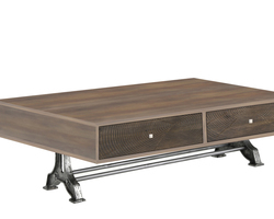 TABLE BASSE 4 TIROIRS - BROOKLYNTB002