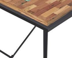 TABLE À MANGER  EN BOIS RECYCLÉS DE BATEAUX 200CM - INDNO34010