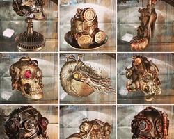 Steampunk - Phrénologie - Gothique